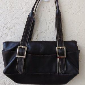 Small Brown Hand/Shoulder Bag Purse by Nine West